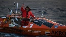 Федор Конюхов установил несколько мировых рекордов вТихом океане