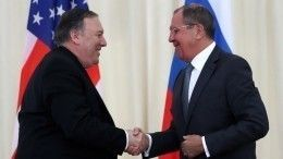 Лавров дал оценку переговорам сгоссекретарем США Помпео