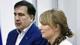 Неизвестные напали нажену Саакашвили вгрузинском Зугдиди