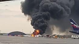 Новое видео трагической аварийной посадки SSJ-100 в«Шереметьево» появилось всети