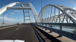 Подведены итоги работы Крымского моста загод— репортаж