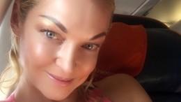 «Наступила нагруду стекла»: Волочкова рассказала, как изрезала ноги вкровь