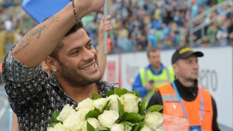 Тренер «Зенита» оценил шансы возвращения Халка впетербургский клуб