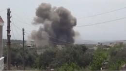 Средства ПВО Сирии открыли огонь повоздушным целям кюгу отДамаска