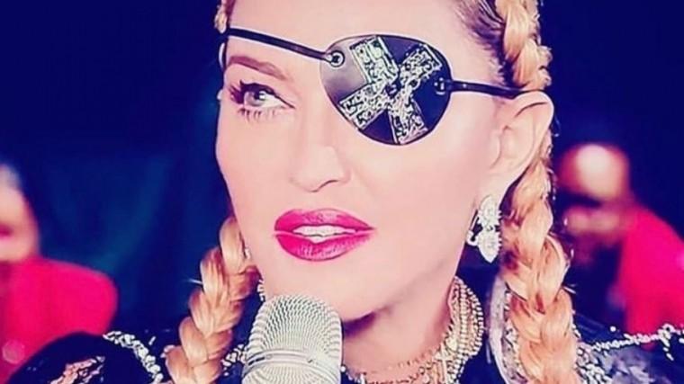 Мадонна продемонстрировала флаг Палестины на«Евровидении-2019»