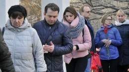 ВМурманске проводили впоследний путь погибших вавиакатастрофе в«Шереметьево»