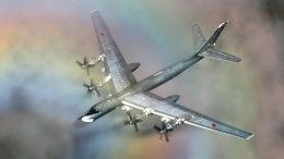 Американские истребители приблизились кбомбардировщикам РФнад нейтральными водами