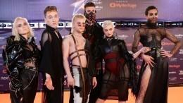Исландцев с«Евровидения» хотят наказать запалестинский флаг