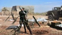 Сирийские военные отбили три атаки боевиков наКафр-Нбуда