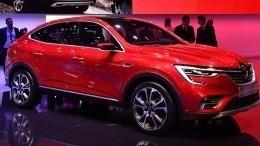 Первую партию автомобилей Renault Arkana раскупили затри часа— видео