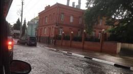 Белгород затопило после непрекращающихся второй день ливней— видео