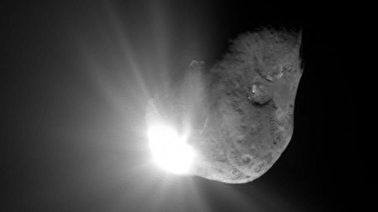 Потенциально опасный двойной астероид вформе алмаза приближается кЗемле