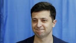 Видео: президент Зеленский заявился на«Лигу смеха» наУкраине. Теперь онзритель