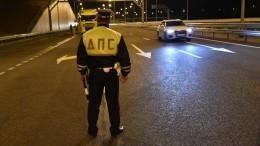 Видео: сын экс-министра сбил сотрудника ДПС вМоскве, скрываясь отпреследования