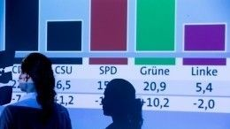 Стали известны предварительные результаты голосования вЕвропарламент
