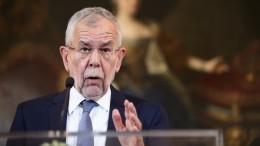 Политическая рокировка? Президент Австрии отправил вотставку Себастьяна Курца