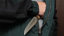 Бизнесмена ранили ножом вМоскве— видео