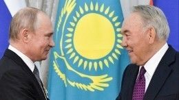 Нурсултан Назарбаев поблагодарил Путина завклад всотрудничество между странами