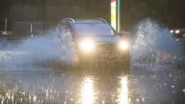 Только начало: Непрекращающийся дождь превратил улицы Биробиджана вреки