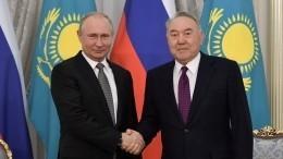 Владимир Путин прибыл вКазахстан для участия вЕврАзЭс