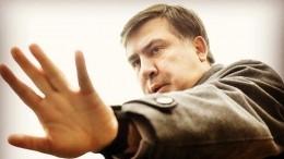 Возвращающийся наУкраину Саакашвили отказался от«съедобного» галстука