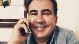 Михаил Саакашвили прилетел вКиев— видео