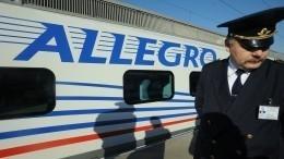 Задымление произошло ввагоне поезда, направлявшегося изПетербурга вХельсинки