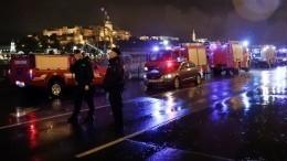 Семь человек погибли врезультате крушения прогулочного катера вБудапеште