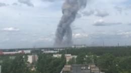 Как минимум два взрыва прогремело назаводе вДзержинске