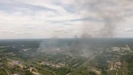 Жуткие кадры последствий взрыва вДзержинске свысоты птичьего полета