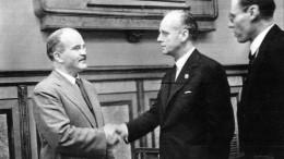 Впервые опубликованы фото советского оригинала пакта Молотова— Риббентропа