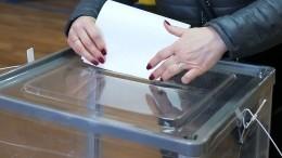 Научастие ввыборах губернатора Петербурга подали документы 13 кандидатов
