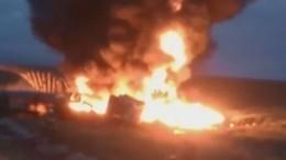 Видео: Огненное ДТП произошло натрассе вТамбовской области