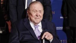 Умер бывший президент УЕФА Ленарт Юханссон