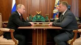 ВАстраханской области сменился временный губернатор