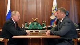 Путин назначил исполняющего обязанности губернатора Астраханской области