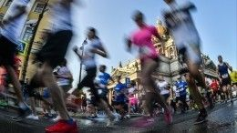 ПМЭФ-2019 начался страдиционного забега напять километров