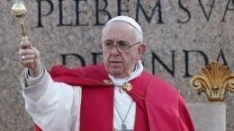 Папа римский изменит текст молитвы «Отче наш»