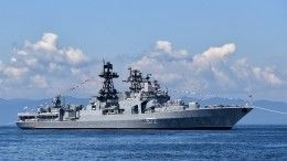 Крейсер ВМС США внезапно пересек курс российского эсминца «Адмирал Виноградов»