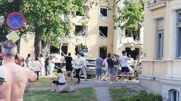 Видео: Мощный взрыв прогремел вцентре шведского Линчепинга, есть пострадавшие