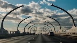 ВПетербурге будет возведена первая развязка широтной магистрали