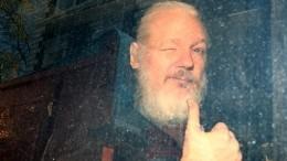 Появилось видео сАссанжем вбританской тюрьме