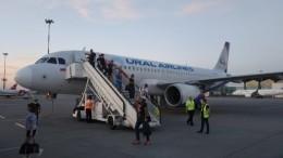 Самолет экстренно вернулся вПетербург из-за неполадок сшасси