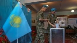 Внеочередные выборы президента проходят вКазахстане