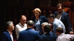 Парламент Молдавии констатировал, что страна захвачена