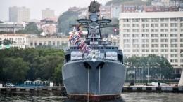 «Невойнаже!» Адмирал ореакции российских моряков насближение скрейсером США