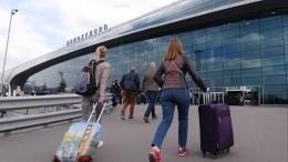 Самолет прервал взлет вДомодедово из-за срабатывания датчика автомата тяги