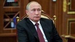 Путин рассмотрит просьбу министра МВД обувольнении генералов после дела Голунова
