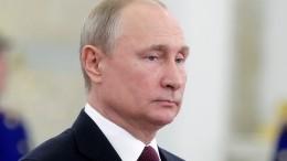 Путин призвал работать сполной отдачей для повышения благополучия россиян