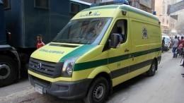 14 человек погибли встрашной аварии смикроавтобусами вЕгипте
